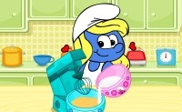Smurfette Raspberry Cookie